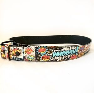 Accessories - Comic Pop Art Belt